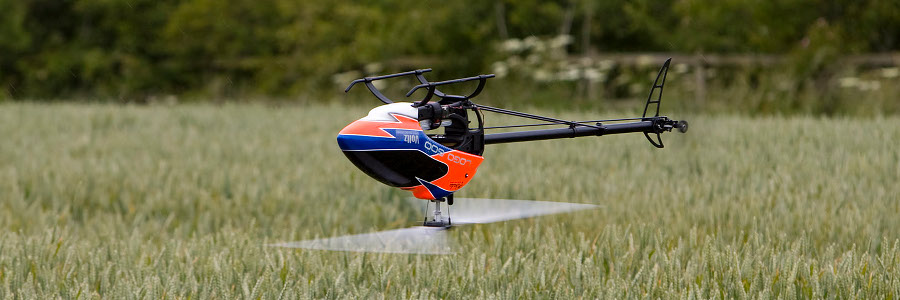 Helicopter wedstrijden